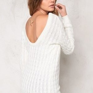 Make Way Signe Sweater White