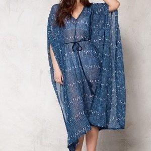 Make Way Sky Dress BlueFeathers
