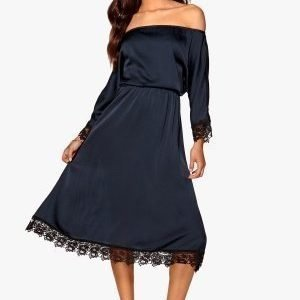 Make Way Sophia-Lie Dress Midnight blue / Black