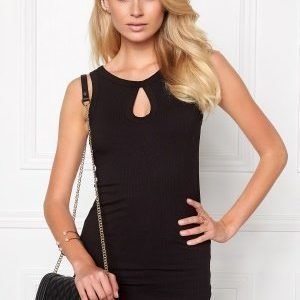 Make Way Tara Singlet Black