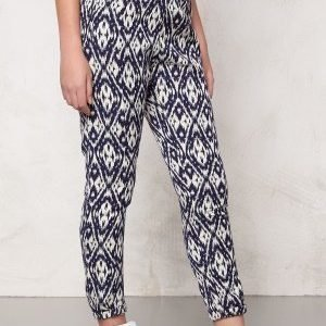 Make Way Wes Pants Blue / White / Patterned