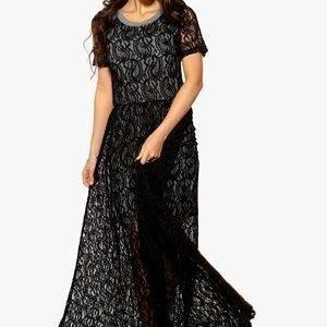 Make Way Yara Dress Musta/Harmaa