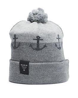 Makia Anchor Cap Grey