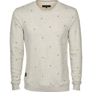 Makia Anchors Sweatshirt Collegepaita