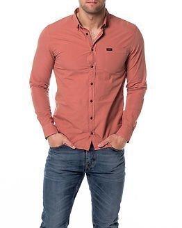 Makia Archipelago Shirt Red