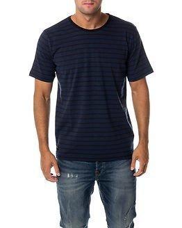 Makia Bolag T-shirt Blue-Black