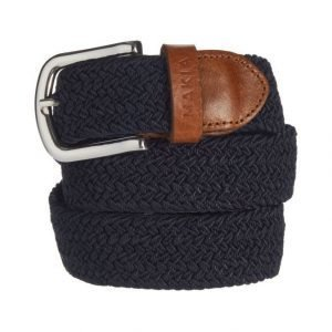 Makia Braided Canvas Belt Vyö