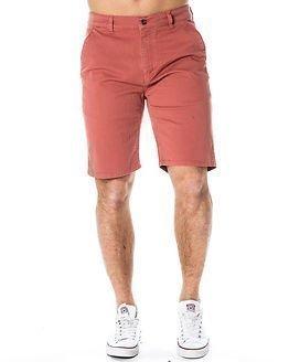 Makia Chino Shorts Red