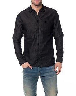 Makia Denim Shirt Black