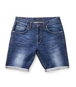 Makia Denim Shorts Washed Blue
