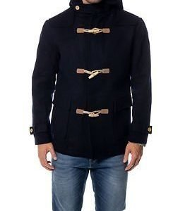 Makia Duffle Coat Navy