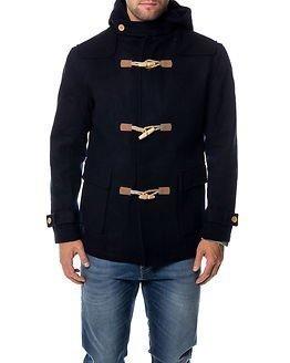 Makia Duffle Coat Navy