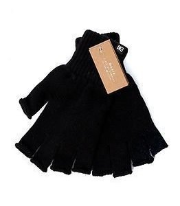 Makia Flag Wool Fingerles Black