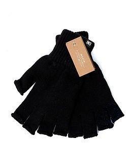Makia Flag Wool Fingerles Black