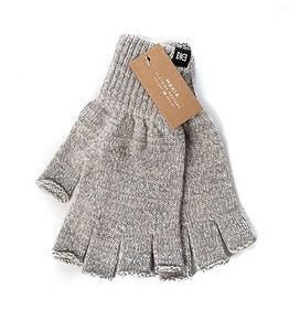 Makia Flag Wool Fingerles Grey