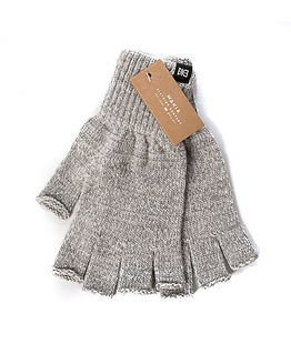 Makia Flag Wool Fingerles Grey