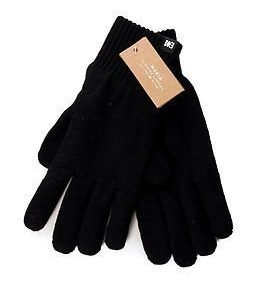 Makia Flag Wool Gloves Black