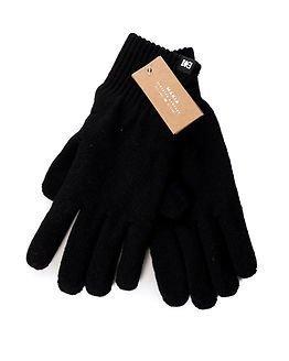 Makia Flag Wool Gloves Black