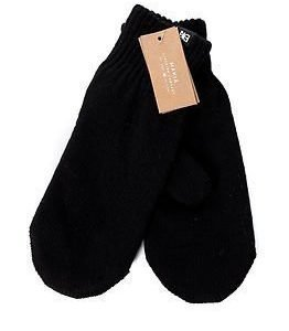 Makia Flag Wool Mitten Black