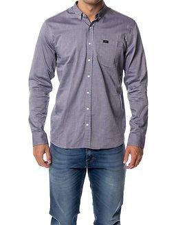 Makia Flagship Shirt Dark Blue
