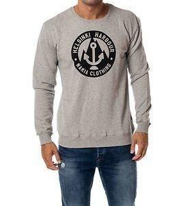 Makia Harbour Sweatshirt Grey/Black
