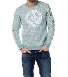 Makia Harbour Sweatshirt Light Blue