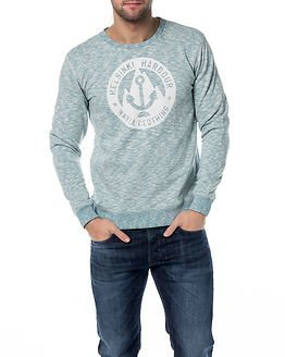 Makia Harbour Sweatshirt Light Blue