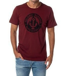 Makia Harbour T-Shirt Burgundy