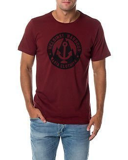 Makia Harbour T-Shirt Burgundy