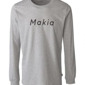 Makia Italic Long Sleeve Paita