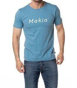 Makia Italic T-Shirt Arctic