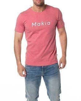 Makia Italic T-Shirt Rose