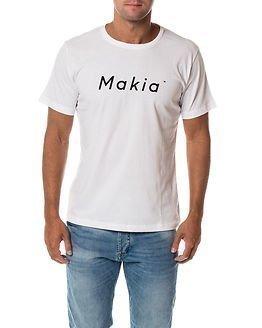 Makia Italic T-shirt White