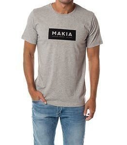 Makia Label T-shirt Grey