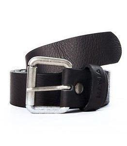 Makia Leather Belt Black