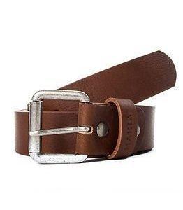 Makia Leather Belt Brown