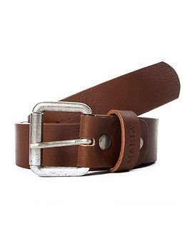 Makia Leather Belt Brown