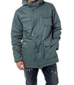 Makia Long Field Jacket North Atlantic