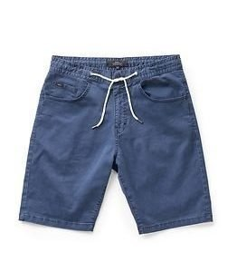 Makia Nautical Shorts Blue