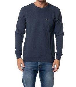Makia Pocket Sweatshirt Blue