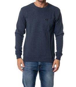 Makia Pocket Sweatshirt Blue