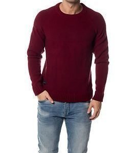 Makia Raglan Knit Burgundy