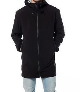 Makia Rain Coat Black