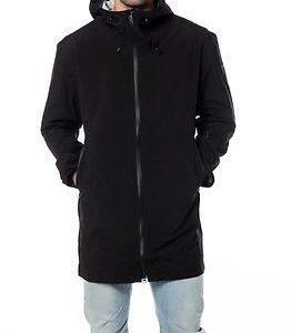 Makia Rain Coat Black