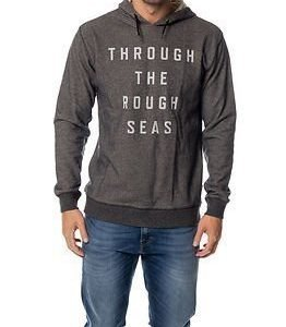 Makia Rough Seas Hooded Sweatshirt Grey
