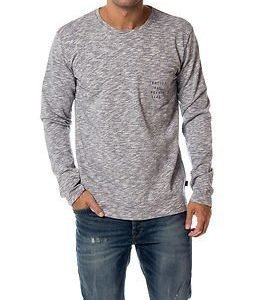 Makia Rough Seas Pocket Long Sleeve Blue-White