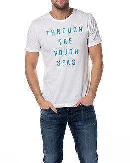 Makia Rough Seas T-Shirt White