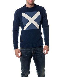 Makia Signal Wool Knit Blue