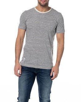 Makia Strand T-Shirt Blue/White