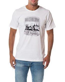 Makia Ursus T-shirt White
